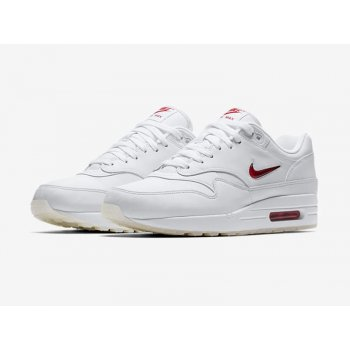 Shoes Low top trainers Nike Air Max 1 Jewel Red White/University Red