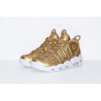 Shoes Low top trainers Nike Air Utempo x Supreme Metallic Gold Metallic Gold/White