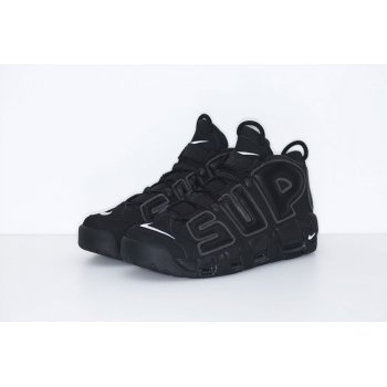 Shoes Hi top trainers Nike Air Utempo x Supreme Black Black/White