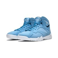 Shoes Hi top trainers Nike Air Jordan 7 Pantone University Blue/White-Black