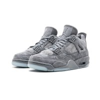 Shoes Hi top trainers Nike Air Jordan 4 Kaws Grey Cool Grey/White