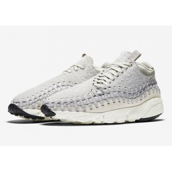 Shoes Low top trainers Nike Air Footscape Woven Light Bone Light Bone/Wolf Grey-White