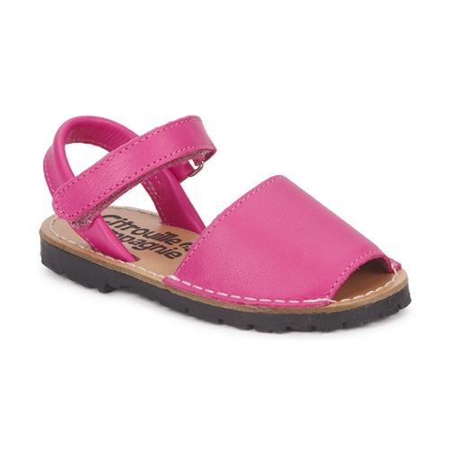 Shoes Girl Sandals Citrouille et Compagnie BERLA Fuschia
