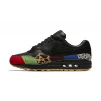 Shoes Low top trainers Nike Air Max 1 Master Black/Black-University Red-International Blue