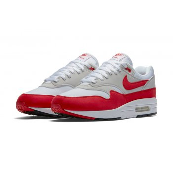 Shoes Low top trainers Nike Air Max 1 Og Red White/University Red - Neutral Grey Black