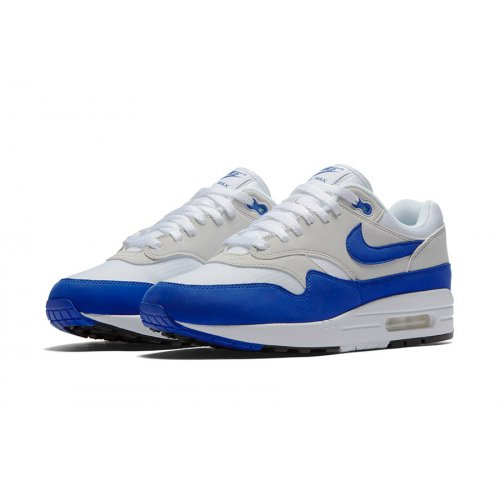 Shoes Low top trainers Nike Air Max 1 Og Blue  White/Game Royal-Neutral Grey-Black