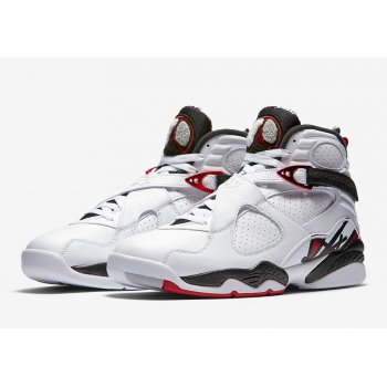 Shoes Hi top trainers Nike Air Jordan 8 Alternate White/Black-Metallic Red