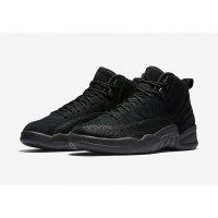 Shoes Hi top trainers Nike Air Jordan 12 x OVO Black Black/Black-Metallic Gold