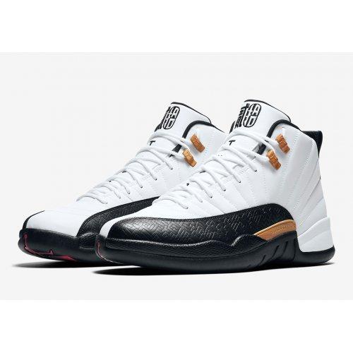 Shoes Hi top trainers Nike Air Jordan 12 Chinese New Year hite/Black-Varsity Red