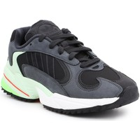 Shoes Men Low top trainers adidas Originals Lifestyle shoes Adidas Yung-1 Trail EE6538 black, grey, green