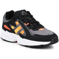 Shoes Men Low top trainers adidas Originals Lifestyle shoes Adidas Yung-96 Chasm EE7227 black, grey, orange