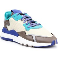Shoes Men Low top trainers adidas Originals Lifestyle shoes Adidas Nite Jogger EE5905 blue, yellow, brown