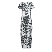 Clothing Women Long Dresses Yurban OVIZ Grey / White