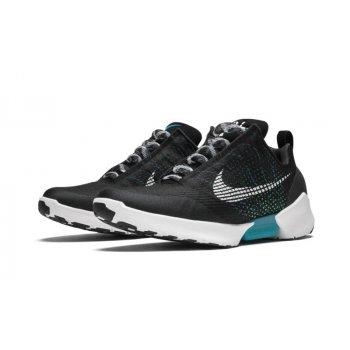 Shoes Low top trainers Nike Hyperadapt 1.0 Blak Metallic Silver/White-Black