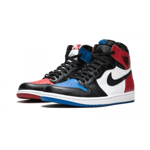 Shoes Hi top trainers Nike Air Jordan 1 High Top 3 Gold Black Black/White-Black-Varsity Royal-Black
