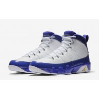 Shoes Hi top trainers Nike Jordan 9 Kobe Bryant  White/Concord-Tour Yellow