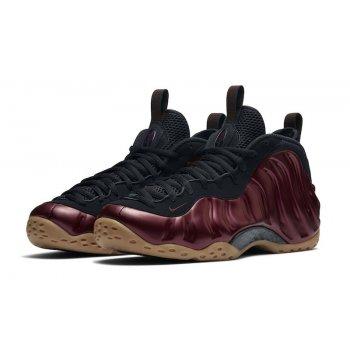Shoes Hi top trainers Nike Air Foamposite One Night Maroon Night Maroon/Maroon-Gum-Light Brown-Black