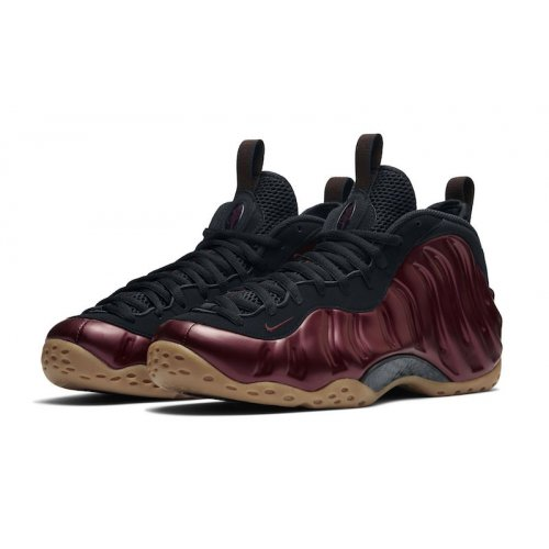 Shoes Hi top trainers Nike Air Foamposite One Night Maroon Night Maroon/Maroon-Gum-Light Brown-Black