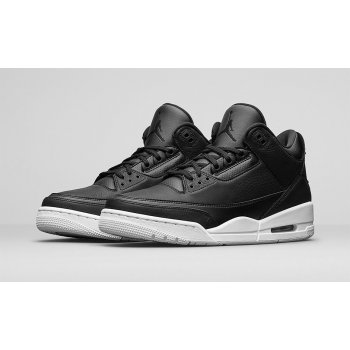 Shoes Low top trainers Nike Air Jordan 3 Cyber Monday Black/Black-White