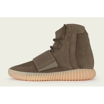 Shoes Hi top trainers adidas Originals Yeezy Boost 750 Light Brown Light Brown/Light Brown