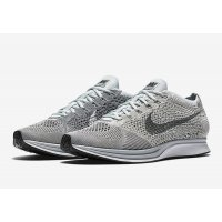 Shoes Low top trainers Nike Flyknit Racer Pure Platinum Pure Platinum/Cool Grey-White
