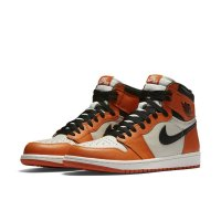 Shoes Hi top trainers Nike Air Jordan 1 Reverse Shattered Backboard Sail/Starfish/Black