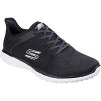 Shoes Women Walking shoes Skechers SK23327 Microburst Supersonic Black and White