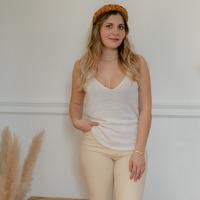 Clothing Women Tops / Blouses Céleste INSEPARABLE Ecru