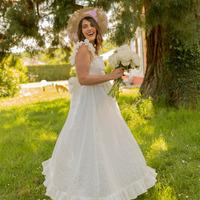 Clothing Women Long Dresses Céleste AURORE White