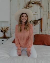 Clothing Women Tops / Blouses Céleste HIRONDELLE Pink