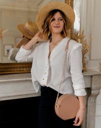 Clothing Women Tops / Blouses Céleste ZEPHYR White