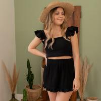 Clothing Women Shorts / Bermudas Céleste MAGNOLIA Black