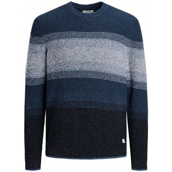 Clothing Men Jumpers Jack & Jones JERSEY  MELANGE 12188886 Blue