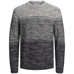 Clothing Men Jumpers Jack & Jones JERSEY  EGRAHAM 12173972 Grey