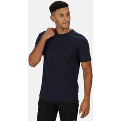Clothing Men Short-sleeved t-shirts Regatta TAIT TShirt Blue