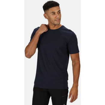 Clothing Men Short-sleeved t-shirts Regatta Tait Lightweight Active T-Shirt Blue Blue