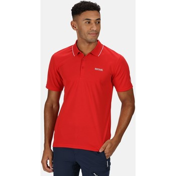 Clothing Men T-shirts & Polo shirts Regatta Maverick V Active Polo Shirt Red Red