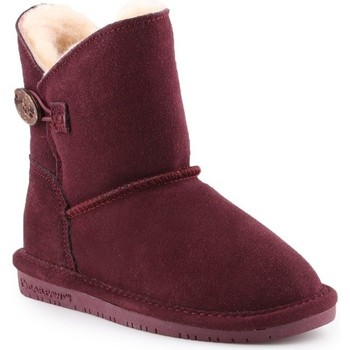 Shoes Children Snow boots Bearpaw Rosie Youth Burgundy