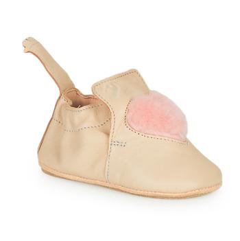 Shoes Children Slippers Easy Peasy BLUBLU COEUR Beige