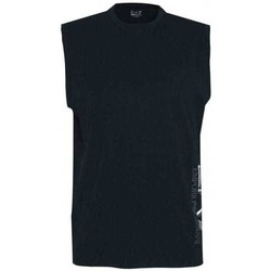 Clothing Men Tops / Sleeveless T-shirts Emporio Armani EA7 3HPT80PJ02Z_1578navy blue