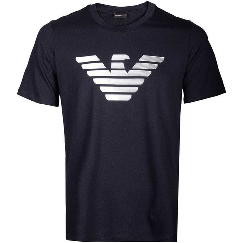 Clothing Men Short-sleeved t-shirts Armani 3H1TD01J30Z_0922navy blue