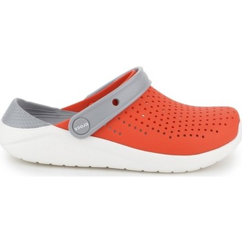 Shoes Children Derby Shoes & Brogues Crocs Literide Clog K Red, Grey