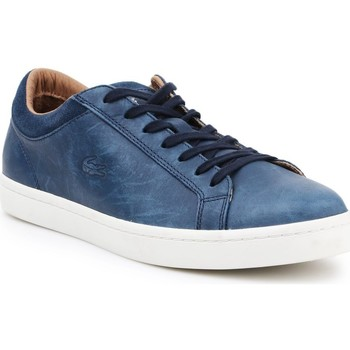 Shoes Men Low top trainers Lacoste 730SRM0027003 Blue