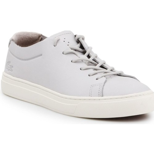 Shoes Women Low top trainers Lacoste L 12 12 Unlined 118 2 Caw Grey