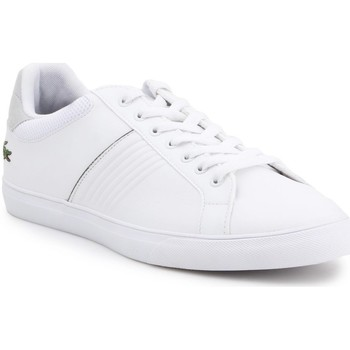 Shoes Men Low top trainers Lacoste 733CAM1049001 White