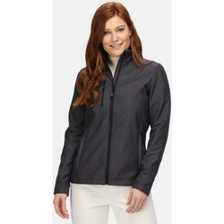 Clothing Women Jackets Professional Honestly Made Recycled Softshell Jacket Grey Grey