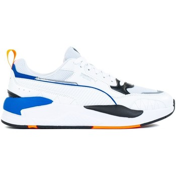 Shoes Men Low top trainers Puma Xray 2 Square White, Blue, Light blue