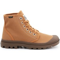 Shoes Men Hi top trainers Palladium Pampa HI Originale Brown