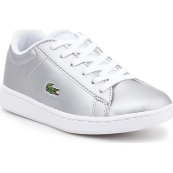 Shoes Children Low top trainers Lacoste 734SPC0006334 Silver