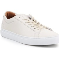Shoes Men Low top trainers Lacoste 735CAM0159001 Beige
